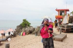 pantai wisata desa pecatu, Bali