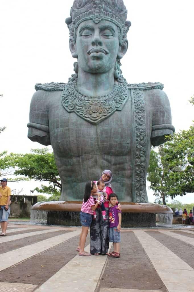 salah satu lokasi objek wisata di Bali, Indonesia