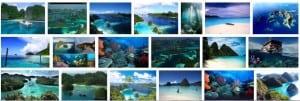 Keindahan Pantai Raja Ampat Papua