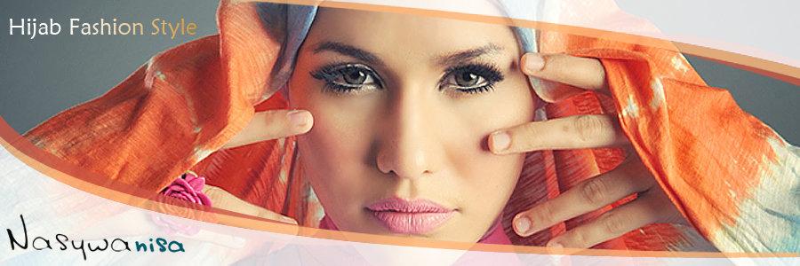 wanita muslim cantik pakai jilbab hijab fashion model busana