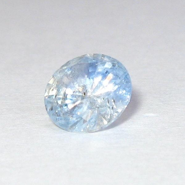 Gambar Batu Safir Srilanka Asli dengan berat 1.15 carat