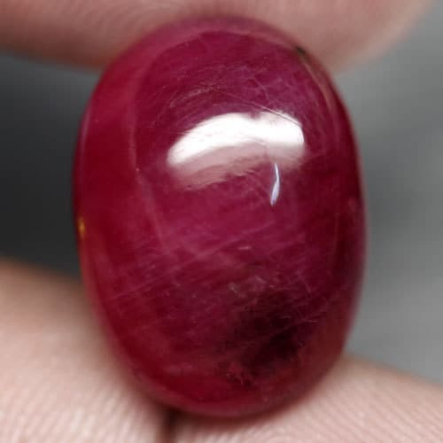 24.31 carat Top Blod Red Natural Ruby Madagascar a
