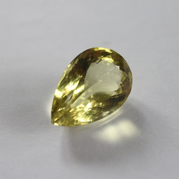 Pear Shape Lemon Quartz 32.52 carat