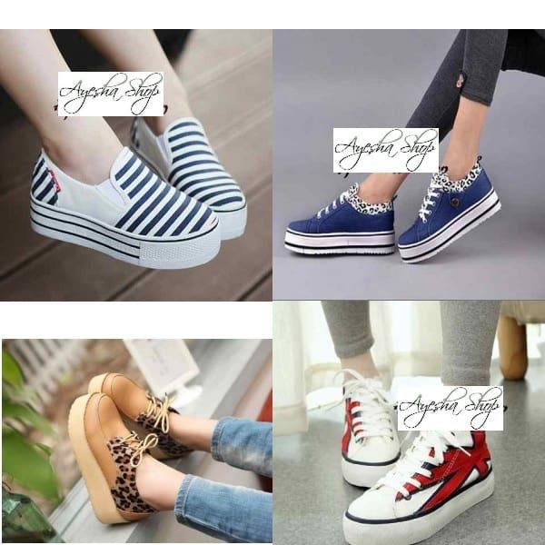 Sepatu Platform Harga Murah