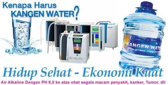 Kebaikan Akibat Mengkonsumsi Kangen Water