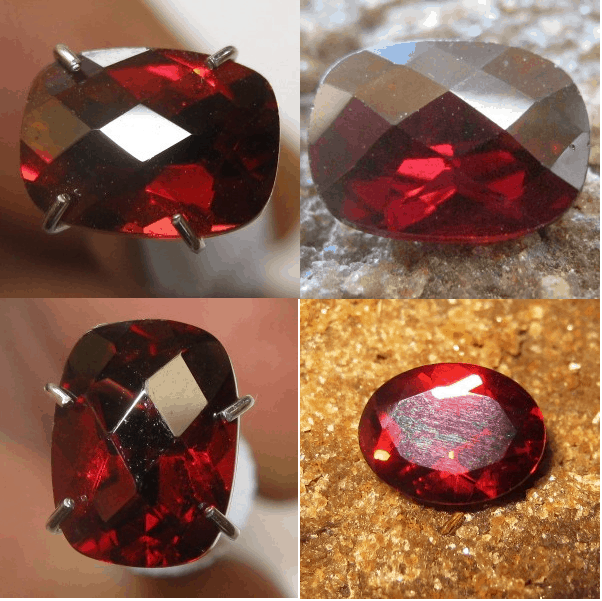 Batu Permata Garnet Pyrope Untuk Perhiasan Exclusive
