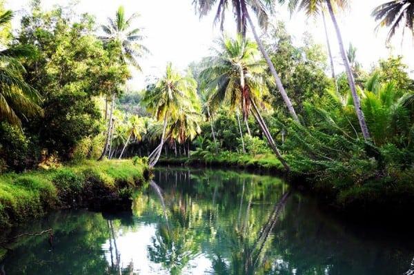 Air Sungai Maron Pacitan Jawa Timur Yang INdah