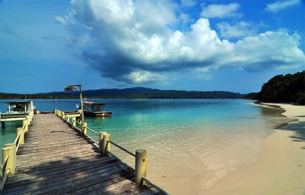 Kepulauan Indah Handeuleum di Taman Nasional Ujung Kulon