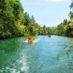 Wisata Sungai Maron Pacitan Jawa Timur