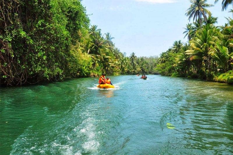 Keindahan dan Pesona Wisata Sungai Maron Pacitan Jawa Timur