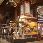 Booth Stand Coffeeland Indonesia pada Pameran Industri Makanan Dan Minuman, Kementerian Perindustrian Jakarta.3-6 mei 2011