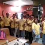 Keceriaan setelah Training 3 hari berturut2 di NIce Coffee Rangkasbitung