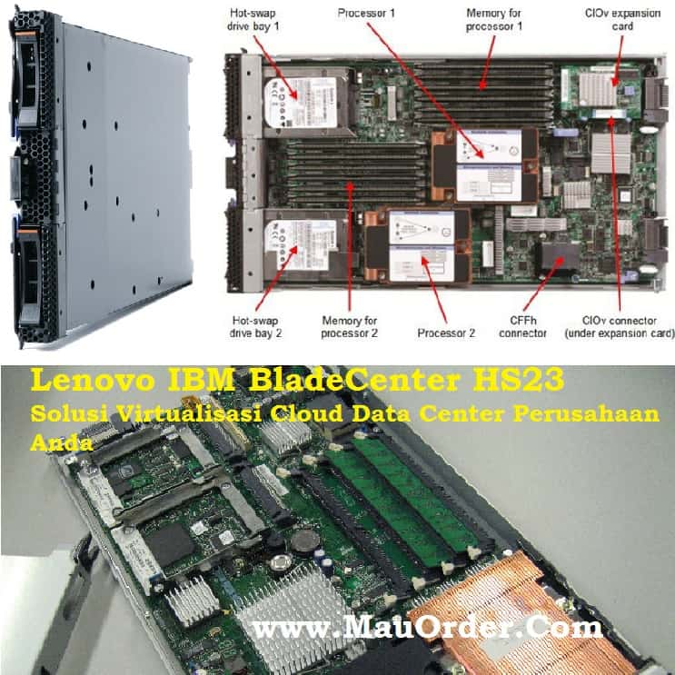 Server Blade Lenovo Solusi Virtualisasi Cloud Data Center