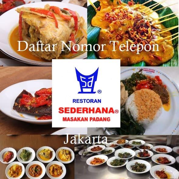 Daftar Restoran Sederhana di Jakarta dan Nomor Telelponnya