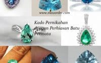 kado pernikahan dengan perhiasan permata