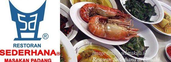 makanan di restoran sederhana