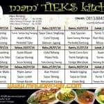 menu katering bintaro murah lezat sehat halal