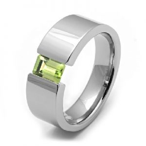 cincin peridot simple exclusive