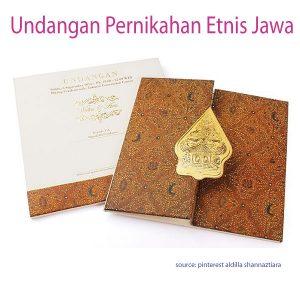 contoh undangan pernikahan etnis jawa