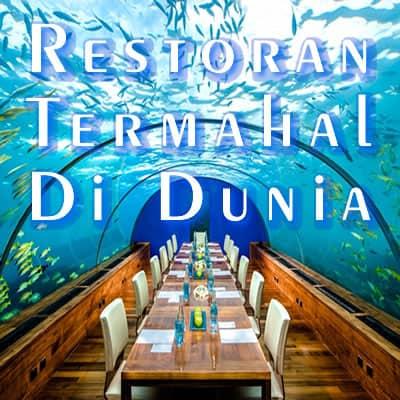 5 Restoran Termahal Didunia