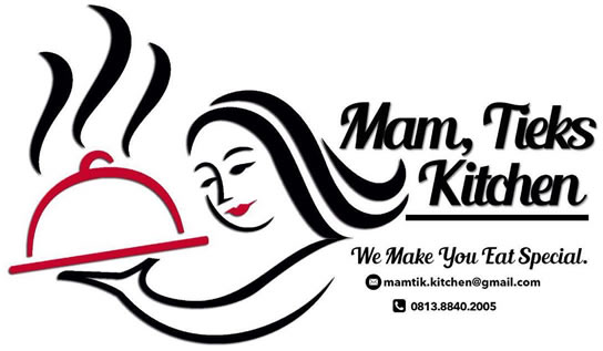 kartu nama catering mam tieks kitchen