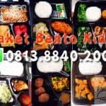 paket bento kids katering untuk anak sekolah di bintaro