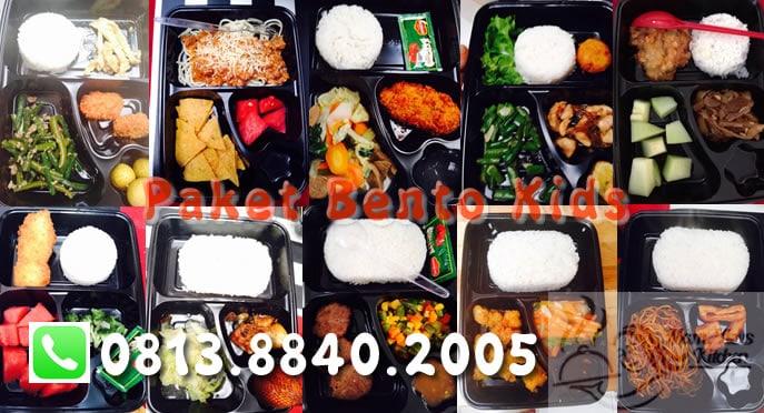 paket bento kids katering untuk anak sekolah jaksel dan tangsel bintaro