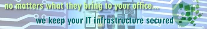 jasa keamananan infrastruktur teknologi informasi perusahaan