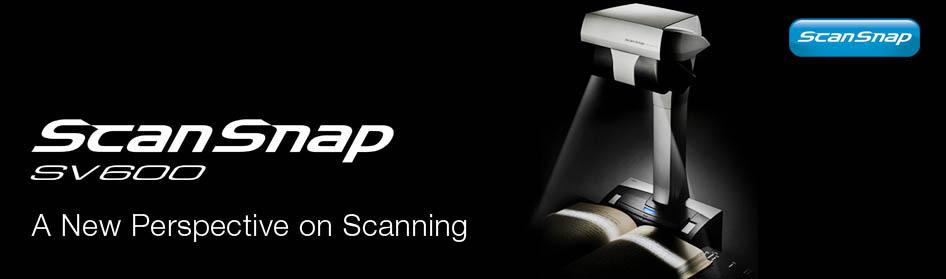 Produk Scanner Terbaru dari Fujitsu - SV600 ScanSnap Series