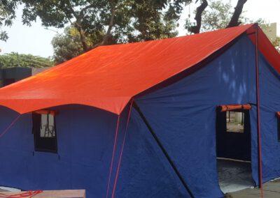 Tenda posko bencana 4 x 6 meter