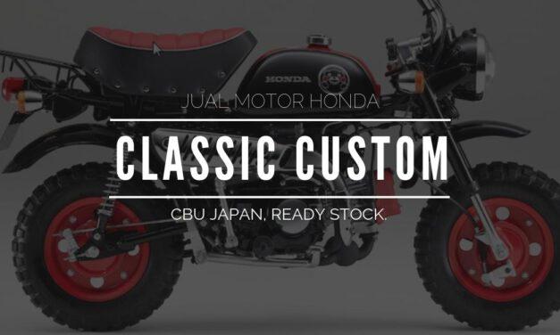 Jual Motor Honda Custom: Monkey, Ape, Super Cub, Little Cub