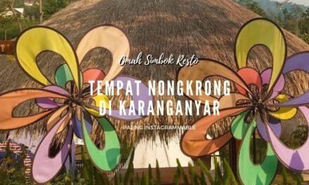 Tempat Nongkrong di Karanganyar yang Paling Instagrammable