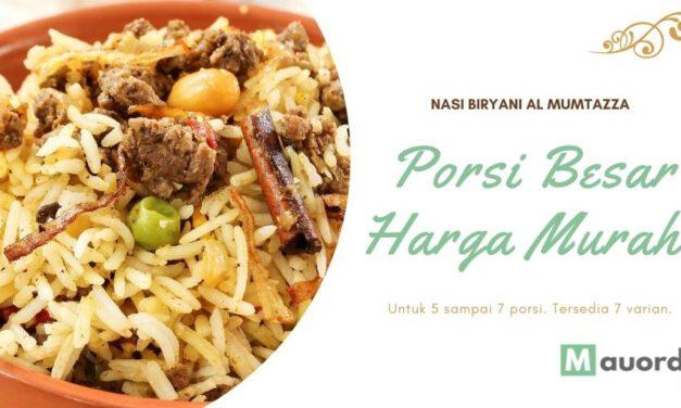 Nasi Kebuli Instan dan Lezat Untuk Porsi 7 Orang Rp. 50rb